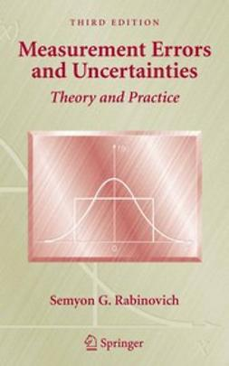 Rabinovich, Semyon G. - Measurement Errors and Uncertainties, ebook