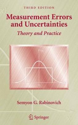 Rabinovich, Semyon G. - Measurement Errors and Uncertainties, e-kirja