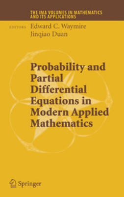 Waymire, Edward C. - Probability and Partial Differential Equations in Modern Applied Mathematics, e-bok