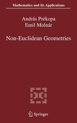 Molnár, Emil - Non-Euclidean Geometries, e-bok