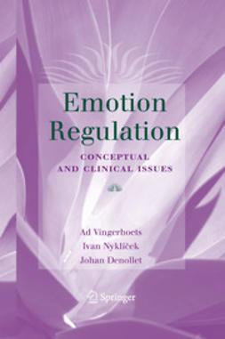 Denollet, Johan - Emotion Regulation, e-bok