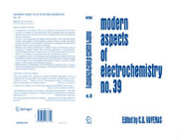 Gamboa-Adelco, Maria E. - Modern Aspects of Electrochemistry, e-bok