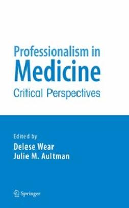 Aultman, Julie M. - Professionalism in Medicine, ebook