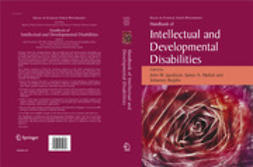 Jacobson, John W. - Handbook of Intellectual and Developmental Disabilities, ebook