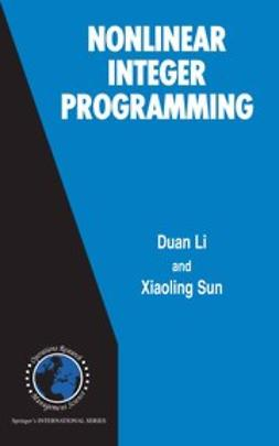 Li, Duan - Nonlinear Integer Programming, ebook