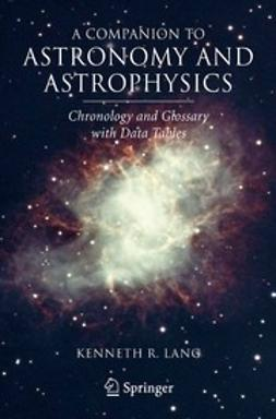 Lang, Kenneth R. - A Companion to Astronomy and Astrophysics, ebook