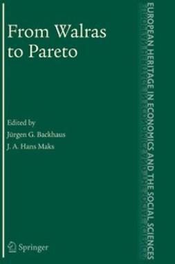 Backhaus, Jürgen G. - From Walras to Pareto, ebook