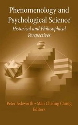 Ashworth, Peter D. - Phenomenology and Psychological Science, e-kirja
