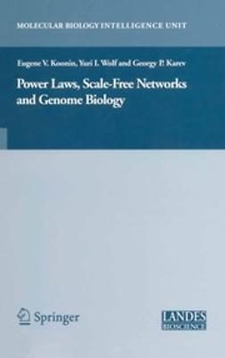 Karev, Georgy P. - Power Laws, Scale-Free Networks and Genome Biology, ebook