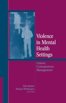 Richter, Dirk - Violence in Mental Health Settings, ebook