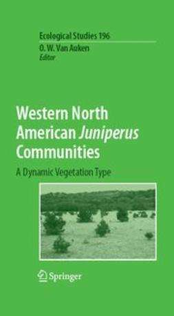 Auken, O. W. - Western North American Juniperus Communities, e-bok
