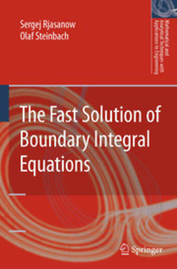Rjasanow, Sergej - The Fast Solution of Boundary Integral Equations, e-kirja