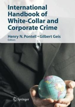 Pontell, Henry N. - International Handbook of White-Collar and Corporate Crime, e-bok