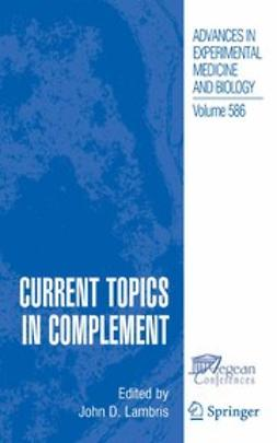 Lambris, John D. - Current Topics in Complement, ebook