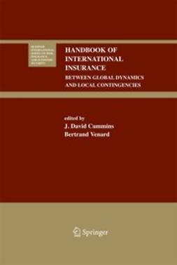 Cummins, J. David - Handbook of International Insurance, e-bok