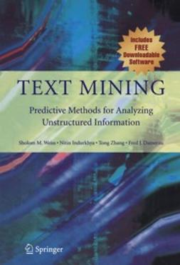 Weiss, Sholom M. - Text Mining, ebook