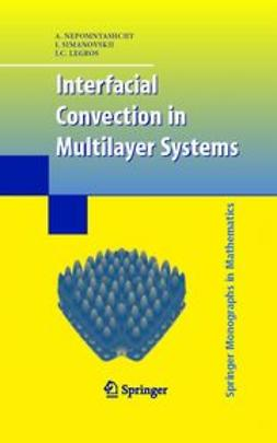 Legros, J. C. - Interfacial Convection in Multilayer Systems, ebook