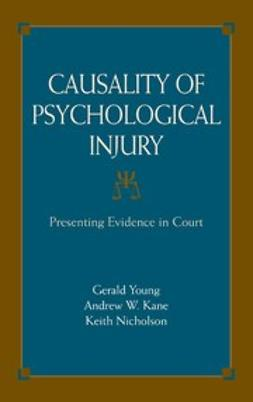 Kane, Andrew W. - Causality of Psychological Injury, e-bok