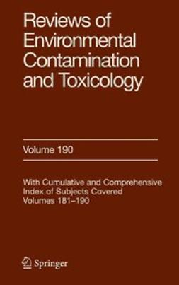 Gunther, Francis A. - Reviews of Environmental Contamination and Toxicology, ebook