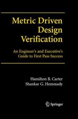 Carter, Hamilton B. - Metric- Driven Design Verification, e-bok
