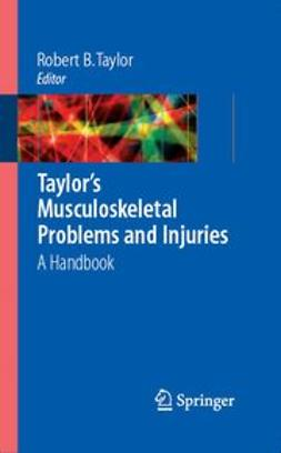 David, Alan K. - Taylor's Musculoskeletal Problems and Injuries A Handbook, ebook