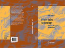 Tu, King-Ning - Solder Joint Technology, ebook