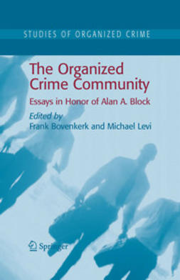 Bovenkerk, Frank - The Organized Crime Community, ebook
