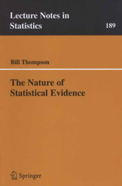 Thompson, Bill - The Nature of Statistical Evidence, ebook