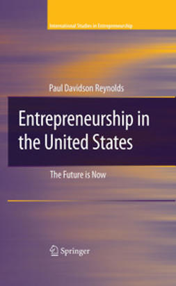 Reynolds, Paul Davidson - Entrepreneurship in The United States, ebook