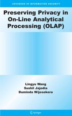 Jajodia, Sushil - Preserving Privacy in On-Line Analytical Processing (OLAP), ebook
