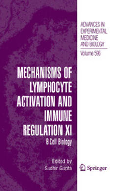 Alt, Frederick - Mechanisms of Lymphocyte Activation and Immune Regulation XI, ebook