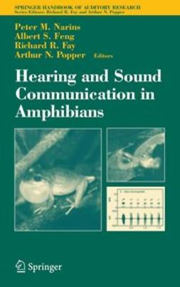 Fay, Richard R. - Hearing and Sound Communication in Amphibians, ebook