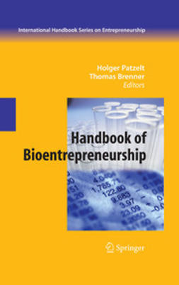 Brenner, Thomas - Handbook of Bioentrepreneurship, ebook