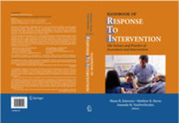 Burns, Matthew K. - Handbook of Response to Intervention, e-kirja