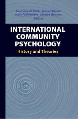 Montero, Maritza - International Community Psychology, e-kirja