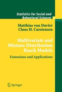 Carstensen, Claus H. - Multivariate and Mixture Distribution Rasch Models, ebook
