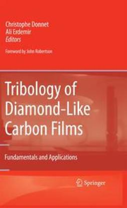 Donnet, Christophe - Tribology of Diamond-Like Carbon Films, ebook