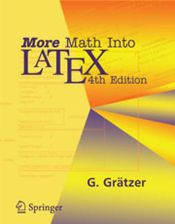 Grätzer, George - More Math Into Latex, ebook