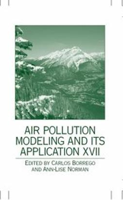 Borrego, Carlos - Air Pollution Modeling and Its Application XVII, e-kirja