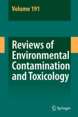 - Reviews of Environmental Contamination and Toxicology, ebook