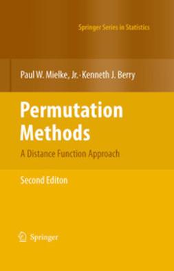 Berry, Kenneth J. - Permutation Methods, ebook