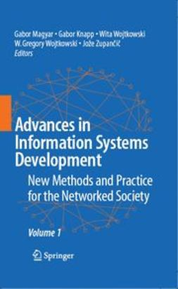 Knapp, Gabor - Advances in Information Systems Development, e-bok