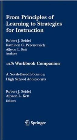 Kett, Allyson L. - From Principles of Learning to Strategies for Instruction with Workbook Companion, e-bok