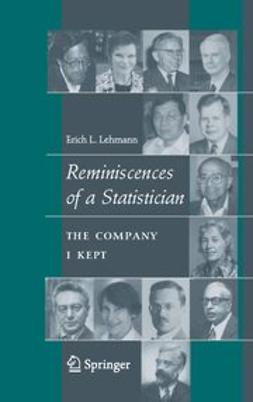 Lehmann, E. L. - Reminiscences of a Statistician, ebook