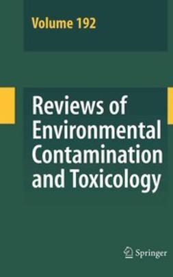 Whitacre, David M. - Reviews of Environmental Contamination and Toxicology, e-kirja