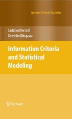 Kitagawa, Genshiro - Information Criteria and Statistical Modeling, ebook