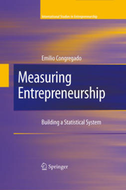 Congregado, Emilio - Measuring Entrepreneurship, ebook