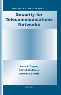 McDaniel, Patrick - Security for Telecommunications Networks, ebook