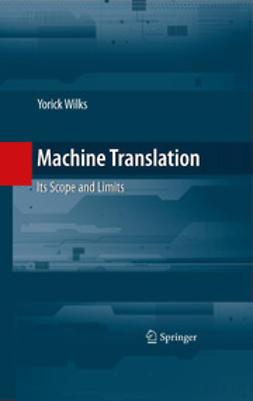Wilks, Yorick - Machine Translation, ebook