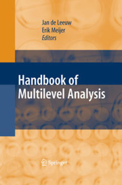 Leeuw, Jan de - Handbook of Multilevel Analysis, ebook